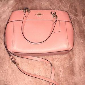 Light pink Coach handbag